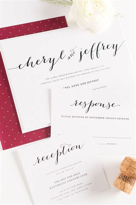 Wedding Invitation Sample Rsvp