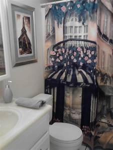 Paris theme bathroom home decoration pinterest for Paris themed bathrooms