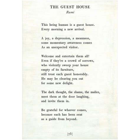 the guest house the guest house poetry collection sugarboo co