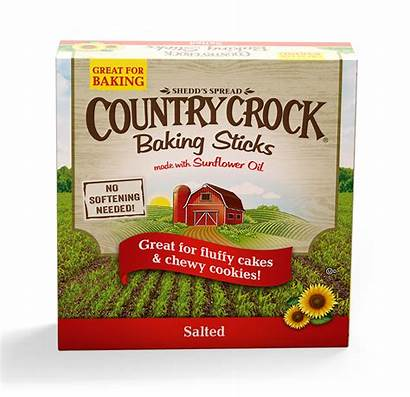 Crock Country Baking Sticks Salted Oil Oz