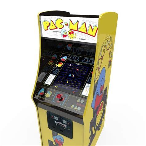 pac man arcade cabinet 3d model pacman arcade cabinet vr ar low poly fbx ma