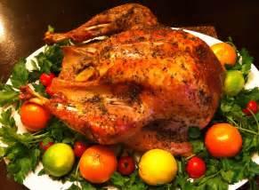 cooking the amazing roasted turkey