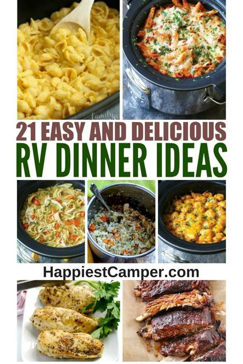 easy delicious dinners 21 easy and delicious rv dinner ideas instant pot rv and crock pot