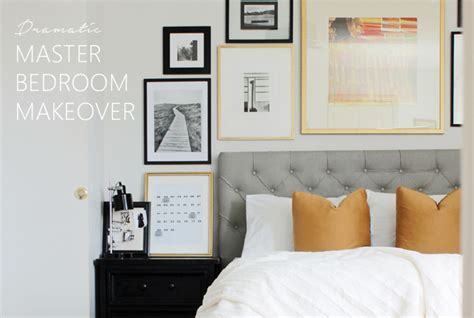A Dramatic Master Bedroom Makeover