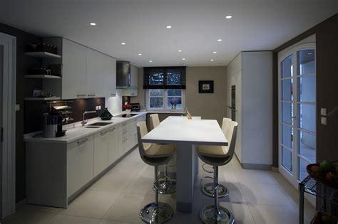 la haute de cuisine deco cuisine table haute