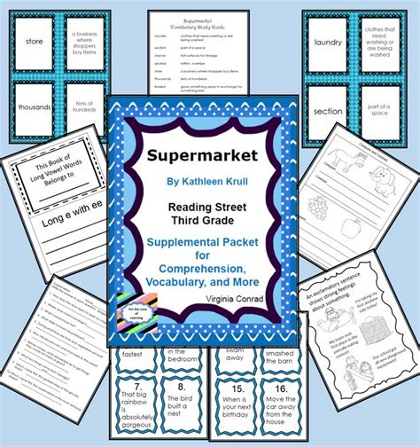 Reading Street 3rd Grade Comprehension Questions  3rd Grade 4th Reading Writing Worksheets