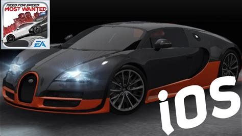 Nfs most wanted 2012:gameplay | bugatti veyron supersport all races (pc hd). NFS MW 2012 iOS - Bugatti Veyron 16.4 Super Sport - YouTube