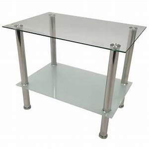 Beistelltisch Glas Edelstahl : beistelltisch edelstahl glas g nstig online kaufen yatego ~ Indierocktalk.com Haus und Dekorationen