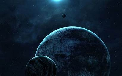 Space Outer Planets Calm Wallpapers Tablet Qauz