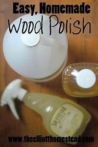 Homemade hardwood floor polish for Homemade organic furniture polish