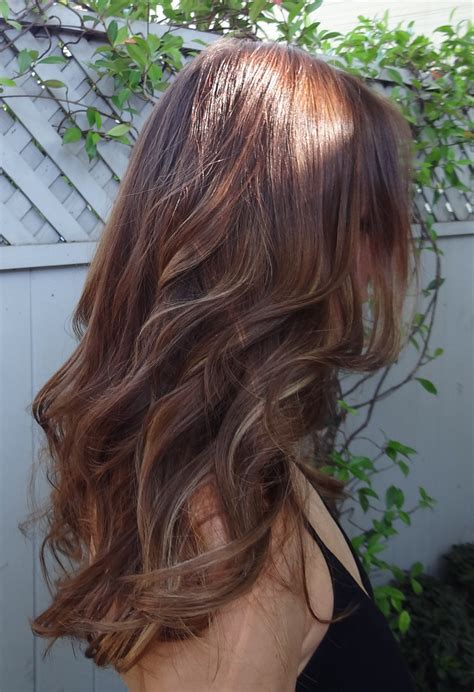 Color For Brown Hair by Hair Color For Fall Darker Is Better Neil George