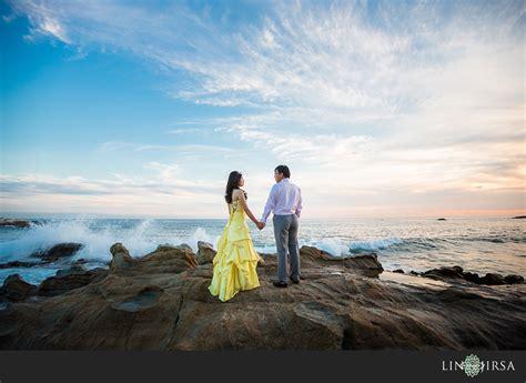 Laguna Beach Engagement  Shaoqian And Yuxia