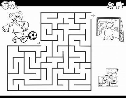 Labirinto Futebol Jogando Cartoon Premium Dinosaurs Coloring