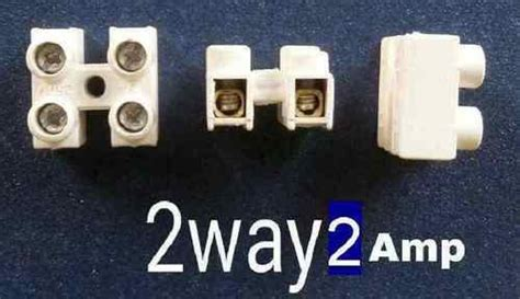 Screw Type Wire Connector 2 Way 2 Amps At Rs 0.1 /piece