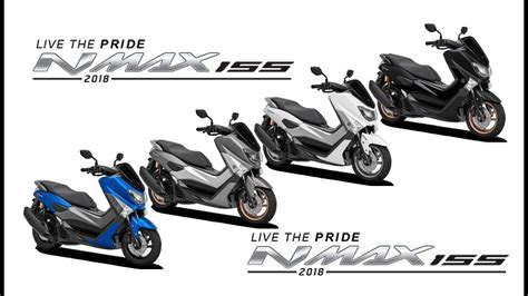 Nmax 2018 Colors by Kumpulan 67 Modifikasi Motor Yamaha Nmax 2018