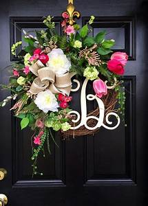 Spring Wreaths Summer wreaths Front door wreaths by