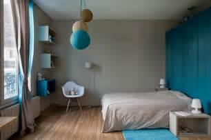 Chambre Marron Et Bleu Turquoise ancienne maison dans la r 233 gion parisienne totalement
