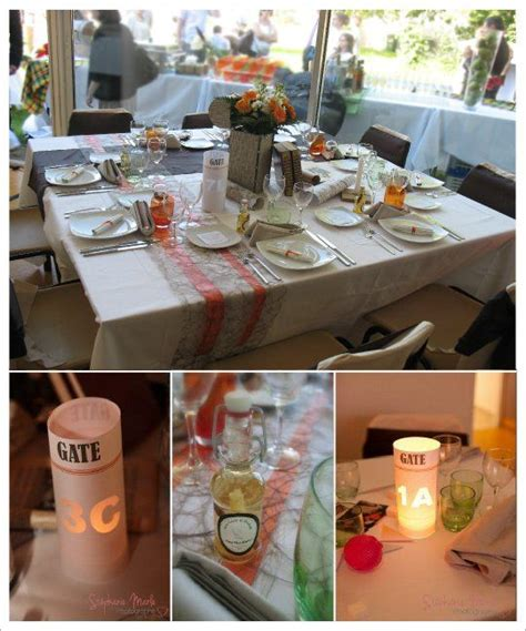decoration table mariage theme voyage 17 best images about mariage th 232 me voyage on voyage invitations and wedding