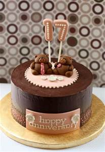 17th wedding anniversary simply cake 17th anniversary cake