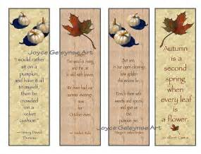 items similar to printable bookmarks maple leaf pumpkins original quotes about fall