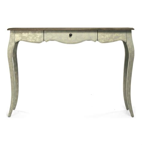 french country console table french country rochelle narrow curved leg console table