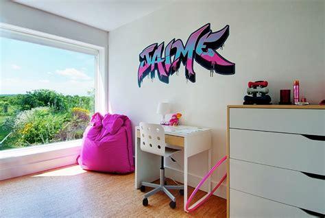 chambre york fille graffiti interiors home murals and decor ideas