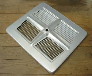 Ceiling Fan Blade Covers by Vintage Retro Aluminum Exhaust Fan Grill Vent Cover Repurpose