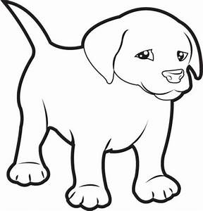 Puppy clip art black and white | Clipart Panda - Free ...