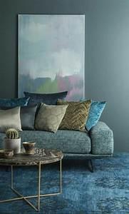 1001 decors avec la couleur canard pour trouver la With tapis couloir avec les canapés poltron et sofa