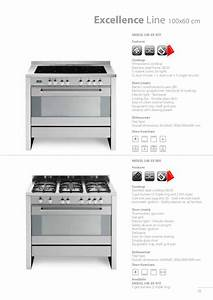 Catalogue Free Standing Cookers