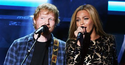 Ed Sheeran Gushes Over Beyonce After Releasing 'perfect' Duet