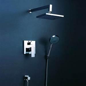 Colonne De Douche Carré : salle de bain colonne de douche livourne douche ~ Edinachiropracticcenter.com Idées de Décoration