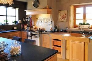 Cuisine Bois Massif : cuisine exciting cuisine bois massif cuisine bois massif ~ Premium-room.com Idées de Décoration