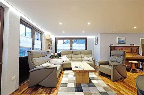 Gemutlich Deckenle Wohnzimmer by Holzdecke Im Wohnzimmer Mit Plameco Renoviert Siegen