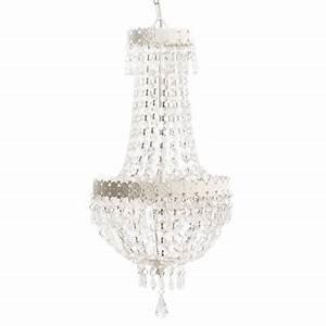 Deckenlampe Shabby Chic : kronleuchter beau chateau wei shabby chic h ngelampe deckenlampe mit kristallen ~ Frokenaadalensverden.com Haus und Dekorationen