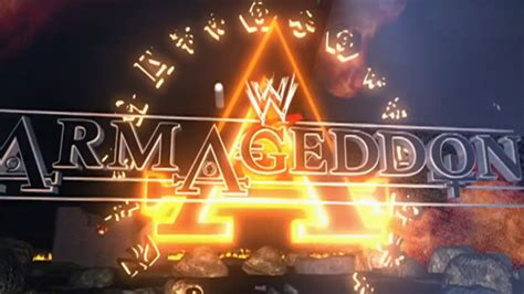 wwe armageddon  results wwe ppv event history