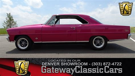 1967 Chevrolet Nova Ss Now Featured In Our Denver Showroom