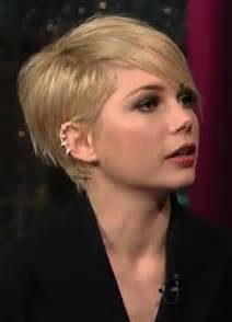 Michelle Williams Short Hair Styles: Pixie Haircut - PoPular Haircuts