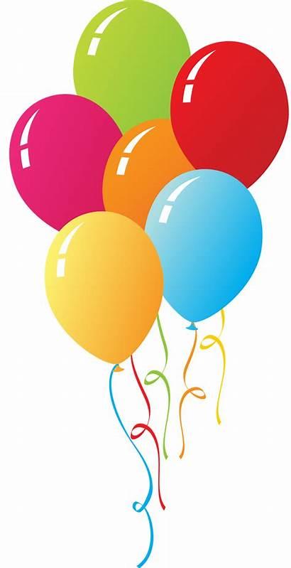 Circus Clipart Balloons Balloon Birthday Clown Transparent