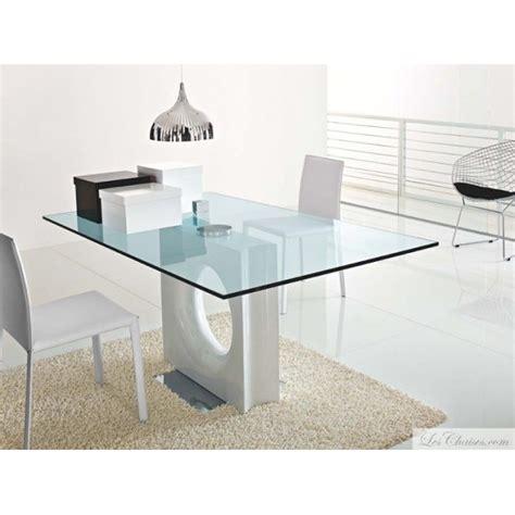table de cuisine en verre pas cher table verre design rectangualire maxime et tables design en verre transparente tables toulouse