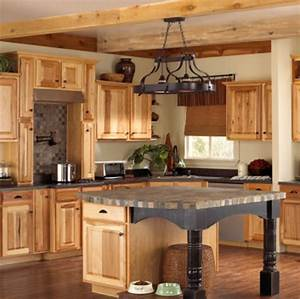Hickory Kitchen Cabinet Pictures and Ideas