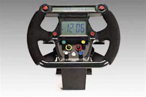 Autoart Formula 1 F1 Steering Lcd Table Clock Multicolor