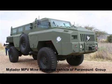 paramount matador matador mpv mine protected vehicle paramount group aad