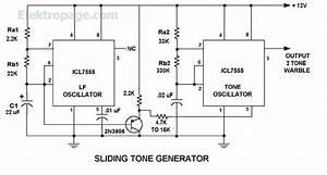 555 Sliding Tone Generator 555 Sliding Tone Generator