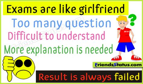 exam   girlfriend funny joke picture