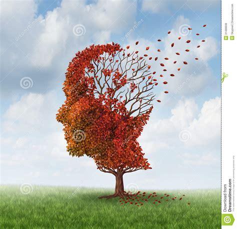 losing brain function royalty  stock  image