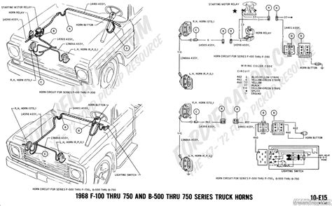 1973 F700 Wiring Diagram by Ford Truck Technical Drawings And Schematics Section H