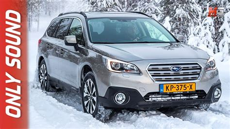 subaru outback snow new subaru outback 2017 finland snow test drive only