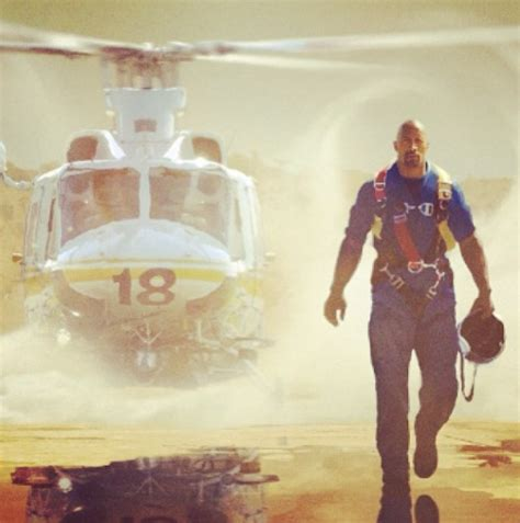 dwayne johnson  disaster film san andreas