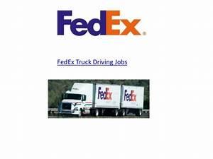 Fedex Truck Driving Jobs